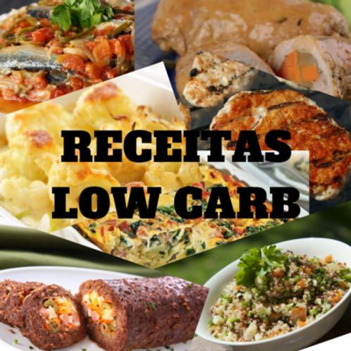 27/Out - Receitas Low Carb: Fácil preparo e Baixo custo