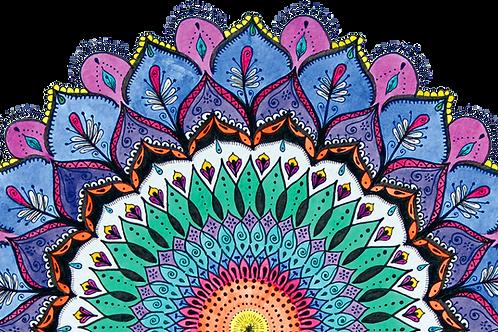 18/Out - Ophicina de Mandalas, tratando as  emoções e técnicas de relaxamento