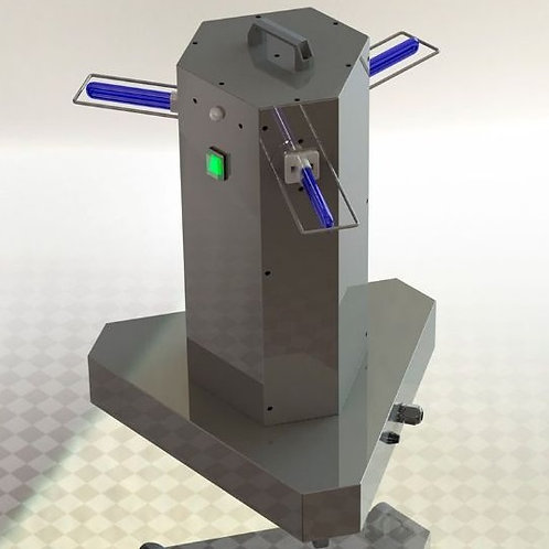 Esterilizador de ambientes – 3 Lâmpadas
