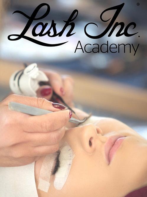Individual eyelashextension training