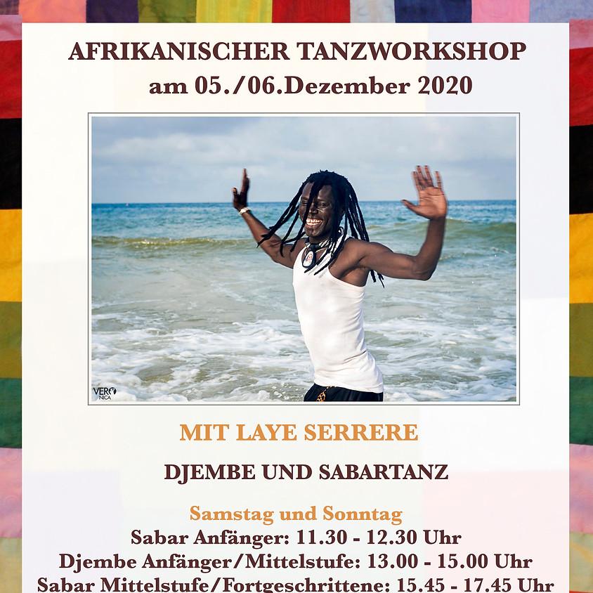 Wochenendworkshop mit Laye Serrere - Djembetanz und Sabartanz