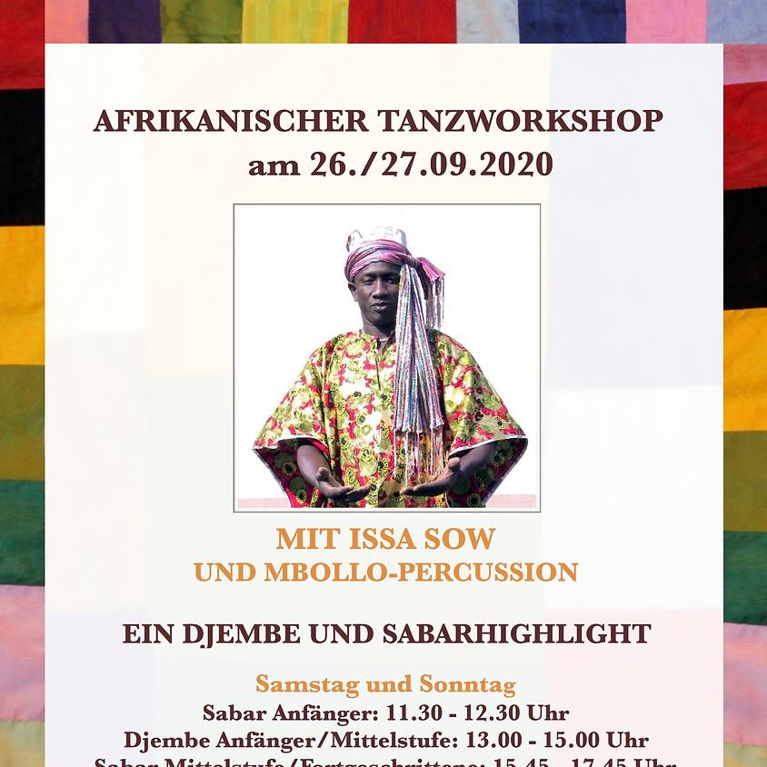 Wochenendworkshop mit Mor Ngome - Djembetanz und Sabartanz