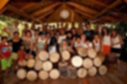 Trommelunterricht am Ammersee, Djembe, Alassane Diop, Afrikanische Musik