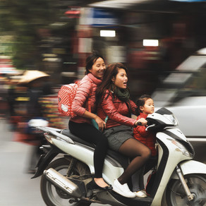 Top 3 Funny Things I've Seen On a Motorbike in Asia