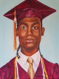 Graduation Self Portrait