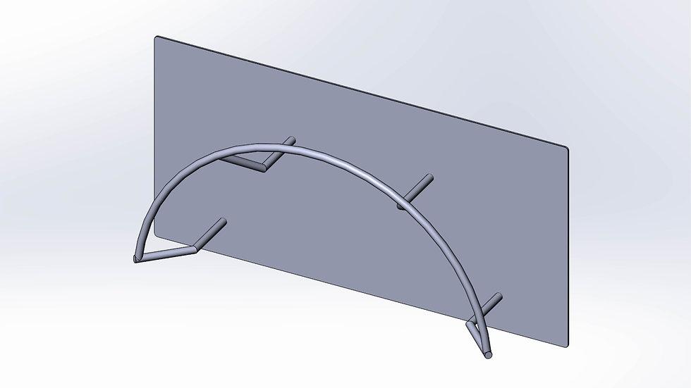 Stainless Steel Hose Holder