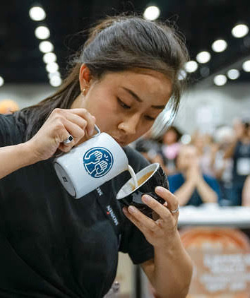 ChiWen competing at CoffeeFest LA 2019