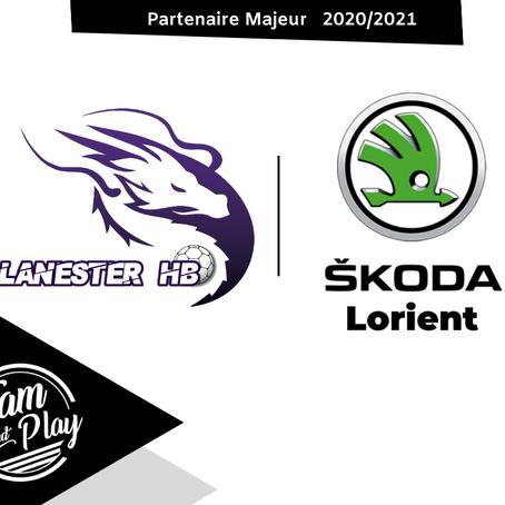 Skoda Lorient - Kerpont auto partenaire maillot