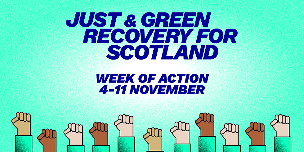 Key issues for a Just & Green Recovery