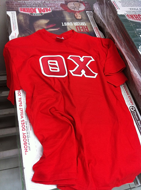 theta chi letters