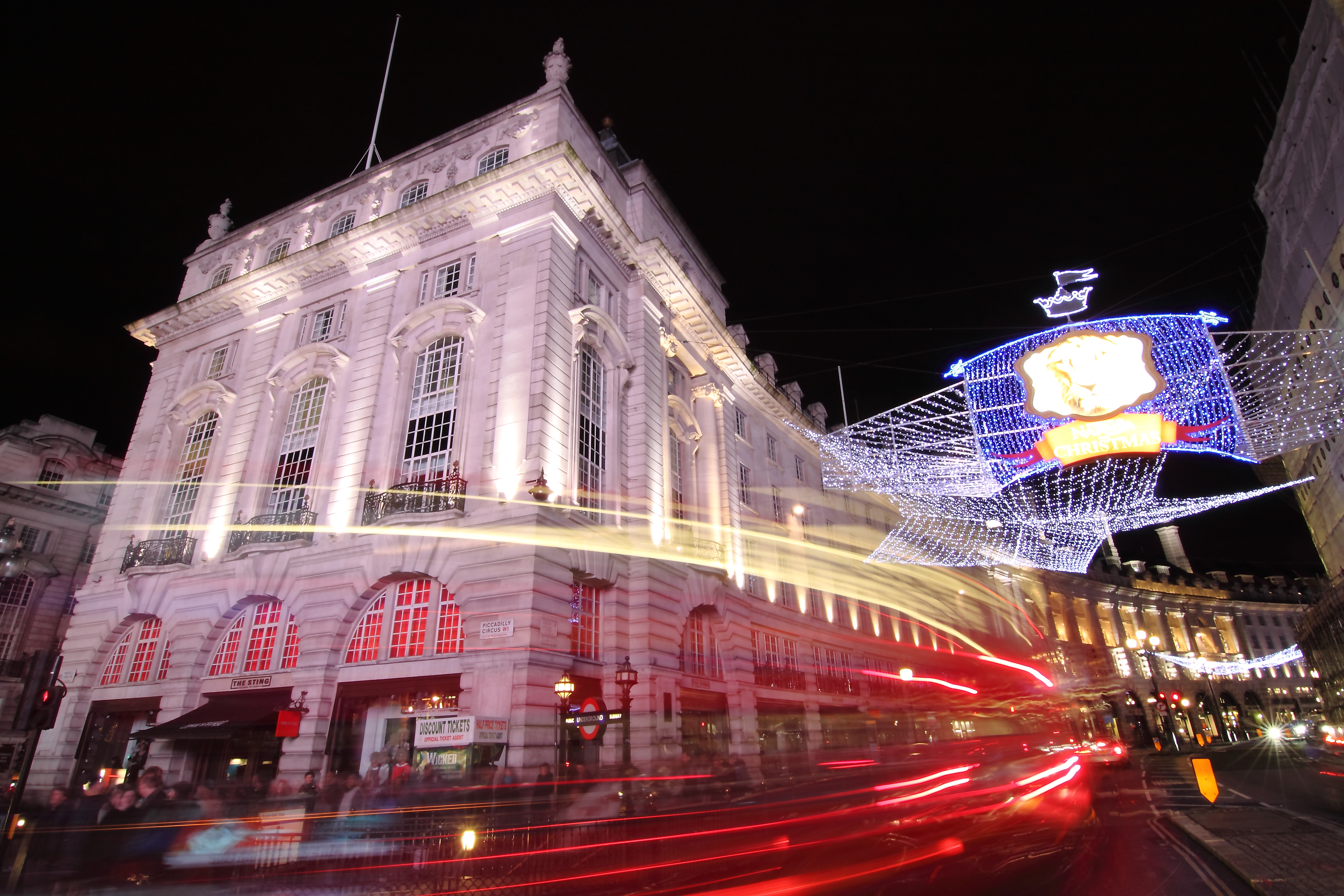 Regent Street Night