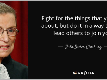 Ruth Bader Ginsberg - How To Live A Meaningful Life
