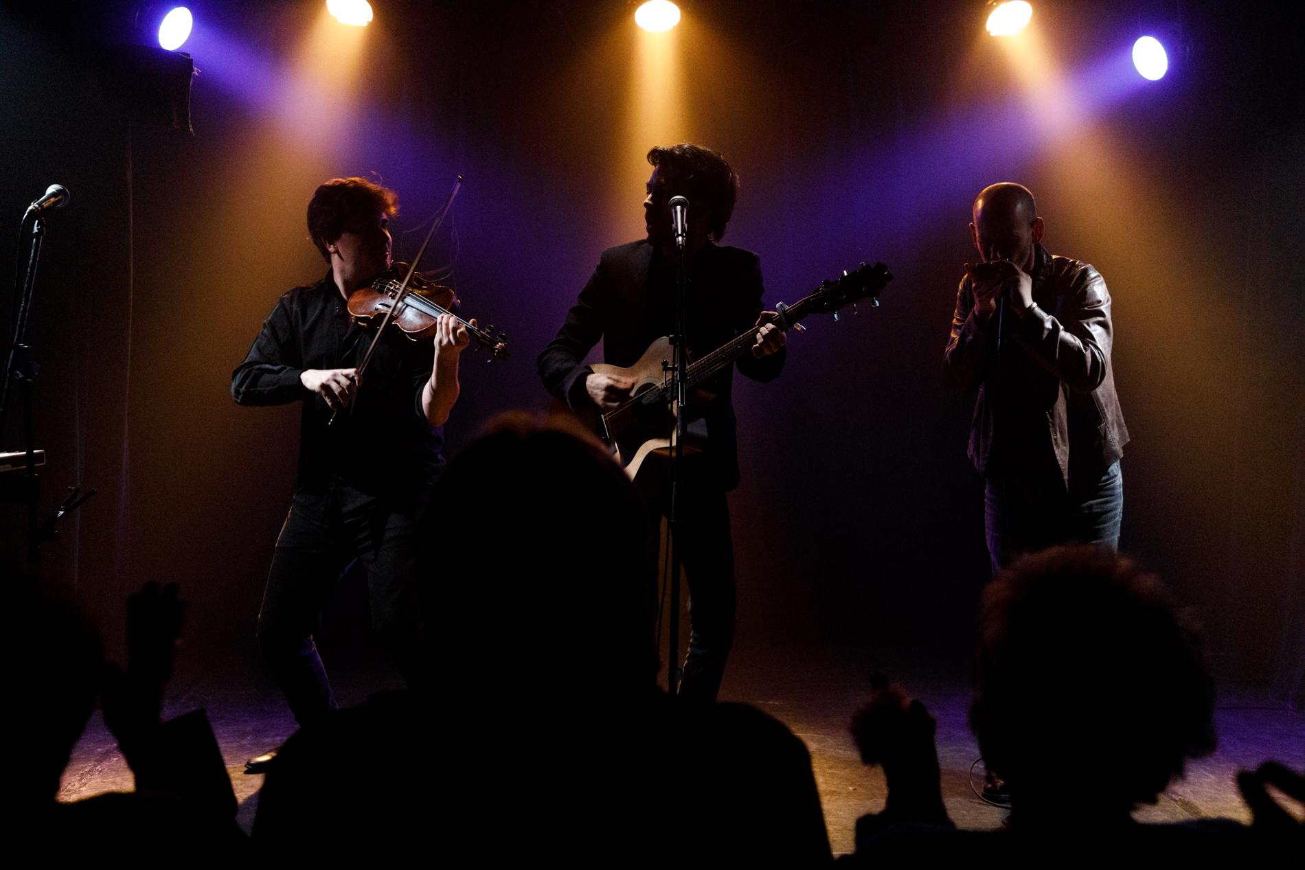 Lucas Rocher Trio Live