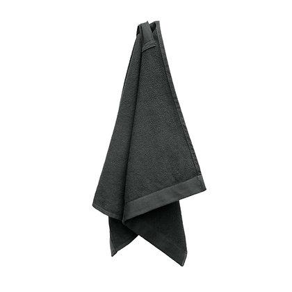 The Organic Company Everyday Hand Towel Dark Grey