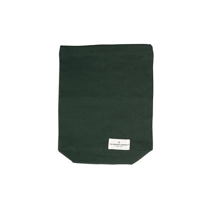 The Organic Company Food Bag Medium Dark Green