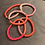 Thumbnail: Lulu´s Salon Katsuki Armband golden Neons schmal