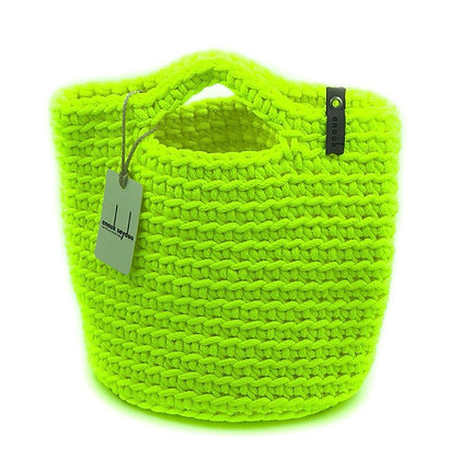 Anouk Seydou Short Tote-bag Neon Yellow