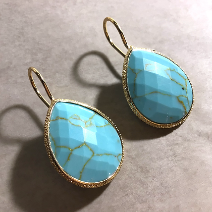 Lulu´s Salon Turquoise Drops