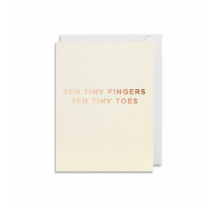Minicards by Kelly Hyatt Ten Tiny Toes