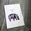 Thumbnail: Fleur de Fleur Printkarte Happy Hippo