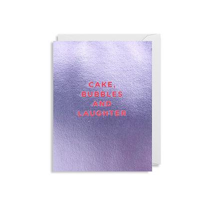 Minicards by Kelly Hyatt Cake & Bubbles