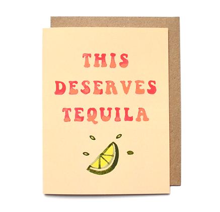 Daydream Prints Tequila Karte