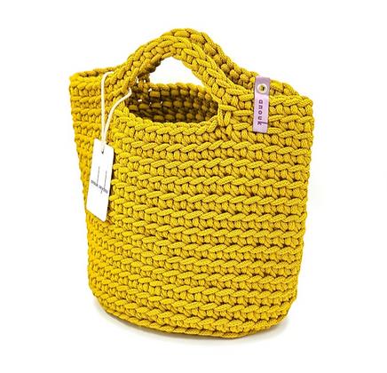 Anouk Seydou Short Tote-bag Mustard