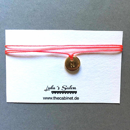 Lulu´s Salon Initial Wrap Armband N gold