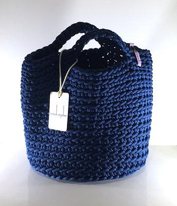 Anouk Seydou Short Tote-bag Matte Blue