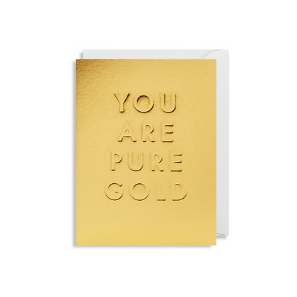 Minicards by Kelly Hyatt Pure Gold