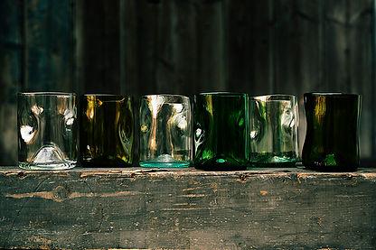 Jesper Jensen recycelte Gläser aus Berlin, alte Weinflaschen als neue Gläser kaufen bei thecabinet.de