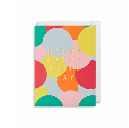 Minicards by Kelly Hyatt Happy Birthday