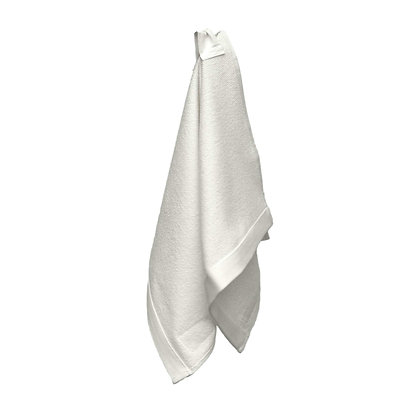 The Organic Company Everyday Hand Towel Natural White