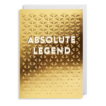 Postco Letterpress Absolute Legend