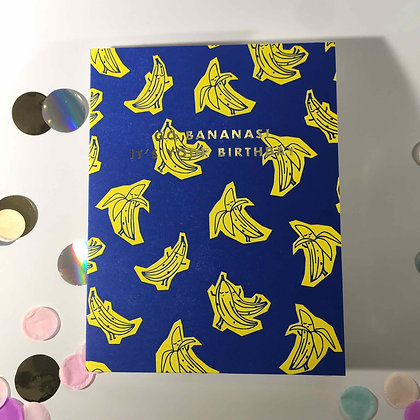 Oliver Bonas Birthday Bananas
