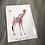Thumbnail: Fleur de Fleur Printkarte Sunshine Giraffa