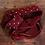 Thumbnail: Knit Ties Rock rote Polka Tie
