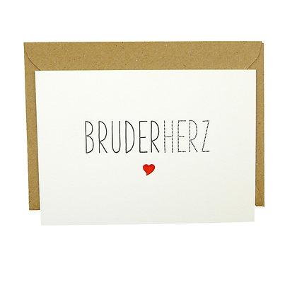 Ink Couture Bruderherz Karte