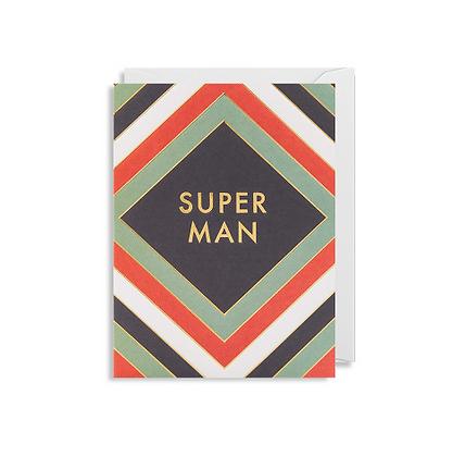 Minicards by Kelly Hyatt Super Man