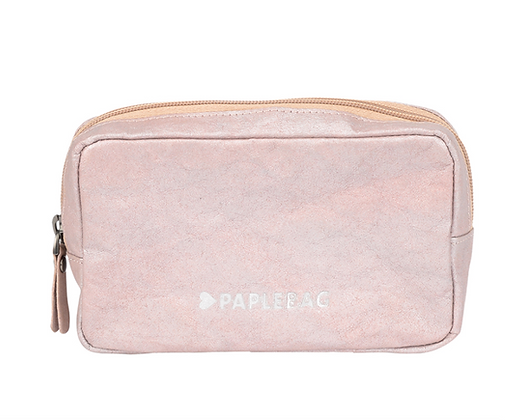 Paplebag Rosé metallic Make Up Bag