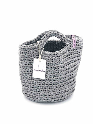 Anouk Seydou Short Tote-bag Stone Grey