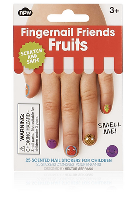 NPW Fingertattoos Fruits scratch & sniff