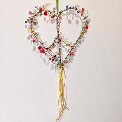 Funkel Multicolor Hippie Herz