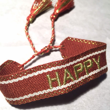 Lulu´s Salon Happy Armband