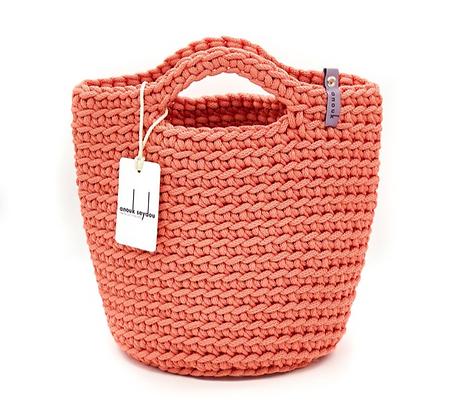 Anouk Seydou Short Tote-bag Coral