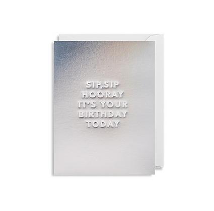 Minicards by Kelly Hyatt Sip Sip Hooray