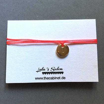 Lulu´s Salon Initial Wrap Armband J gold