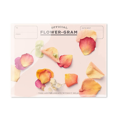 Inklings Paperie Flowergram Karte