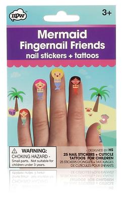 NPW Mermaid Fingersticker und Tattoos