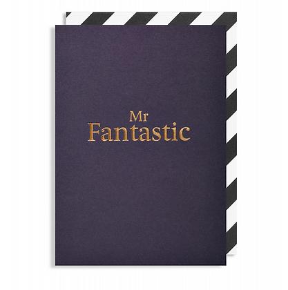 Postco Letterpress Mr Fantastic